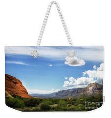 Red Rock Canyon Vintage Style Sweeping Vista Weekender Tote Bag