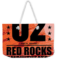 Red Rock Concert Weekender Tote Bag by Gary Grayson