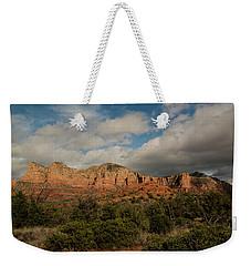 Red Rock Country Sedona Arizona 3 Weekender Tote Bag by David Haskett