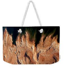 Red Rock Feathers Weekender Tote Bag
