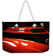 Red Rocket Weekender Tote Bag