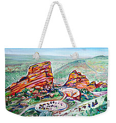 Red Rocks Amphitheatre Weekender Tote Bag