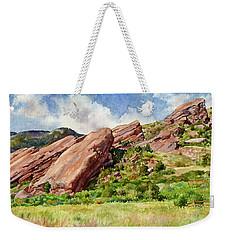 Red Rocks Amphitheatre Weekender Tote Bag