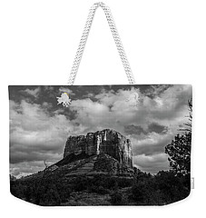 Red Rocks Sedona Bnw 1 Weekender Tote Bag by David Haskett