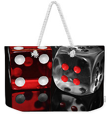 Red Rollers Weekender Tote Bag