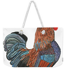Red Rooster Weekender Tote Bag