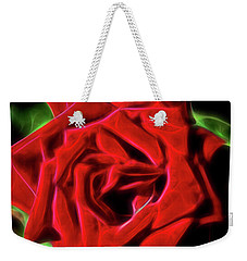 Red Rose 1a Weekender Tote Bag