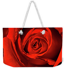Red Rose Weekender Tote Bag by Jay Stockhaus