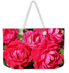 Red Roses 1 Weekender Tote Bag