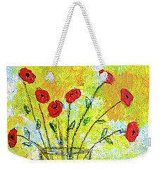 Red Roses For You Weekender Tote Bag