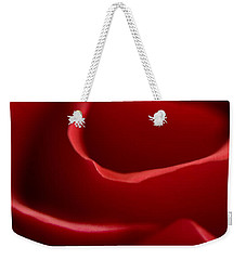 Red Roses V Weekender Tote Bag