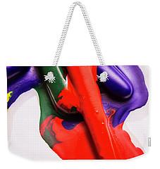 Red Runs Weekender Tote Bag