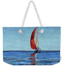 Red Sail Weekender Tote Bag