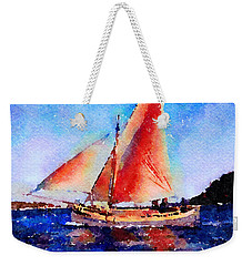 Red Sails Delight Weekender Tote Bag