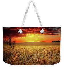 Red Skies Weekender Tote Bag