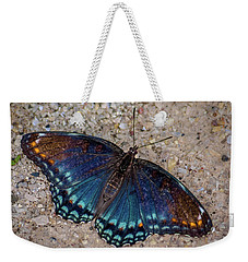 Red-spotted Purple Admiral Butterfly Weekender Tote Bag
