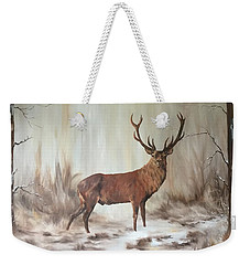 Red Stag Weekender Tote Bag
