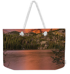 Red Sunrise  Weekender Tote Bag