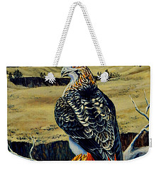 Montana Red Tail Hawk  Weekender Tote Bag