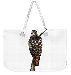 Red-tailed Hawk - Color Weekender Tote Bag