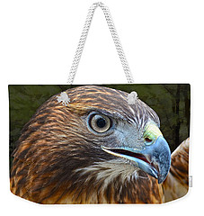Red-tailed Hawk Portrait Weekender Tote Bag by Sandi OReilly