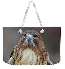 Weekender Tote Bag featuring the photograph Red Tailed Hawk by Richard Bryce and Family