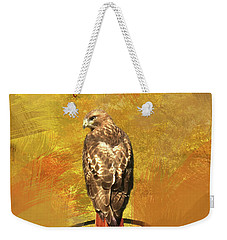 Red-tailed Hawk Watercolor Photo Weekender Tote Bag
