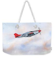 Red Tails Weekender Tote Bag