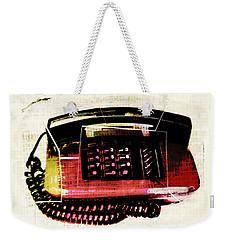 Hot Red Phone Weekender Tote Bag