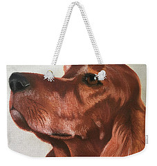 Red The Irish Setter Weekender Tote Bag