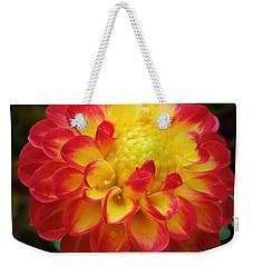 Red Tipped Petals Weekender Tote Bag
