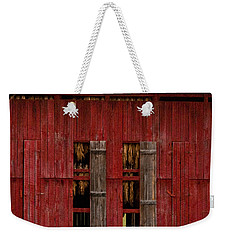 Red Tobacco Barn Weekender Tote Bag