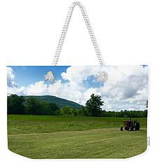 Red Tractor Weekender Tote Bag