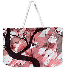 Red Tree Enchantment Weekender Tote Bag