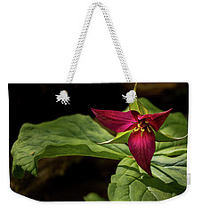 Red Trillium Weekender Tote Bag