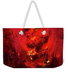 Red Universe Weekender Tote Bag