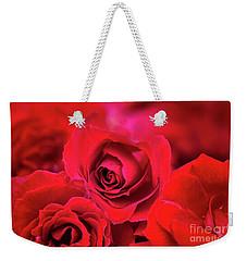 Red Velvet Weekender Tote Bag by Charuhas Images