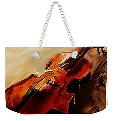 Red Violin  Weekender Tote Bag