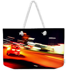 Red Vision Weekender Tote Bag