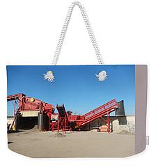 Red Vss Dovas Weekender Tote Bag