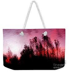 Red Waters Weekender Tote Bag
