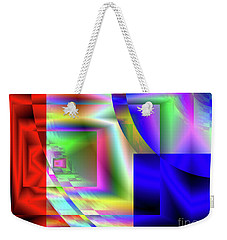 Red White And Blue 1 Weekender Tote Bag