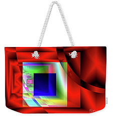 Red White And Blue 2 Weekender Tote Bag