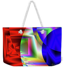 Red White And Blue 3 Weekender Tote Bag