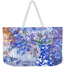 Red, White And Blue Weekender Tote Bag