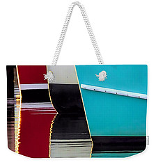 Red White Blue Reflections Weekender Tote Bag