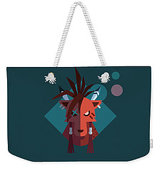 Red Xiii Weekender Tote Bag