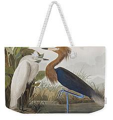Reddish Egret Weekender Tote Bag by John James Audubon