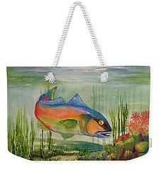 Rainbow Fish Weekender Tote Bag