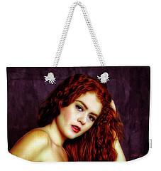 Redhead ... Weekender Tote Bag